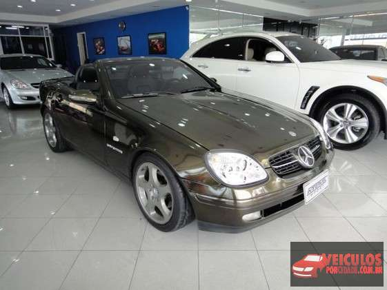 Mercedes-Benz SLK 230 Kompressor 2.3 Preto São Bernardo do Campo-SP