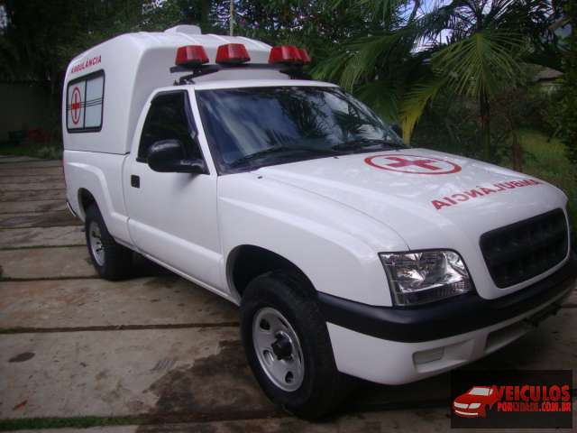 S10 2.4 Ambulancia Usada Itariri-SP