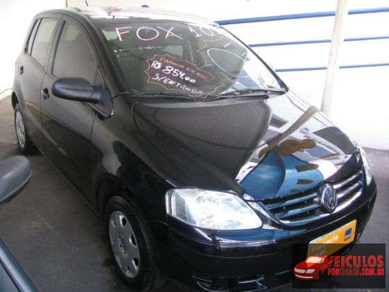 Volkswagen Fox Usado Plus 1.0 8V (flex) Preto Betim-MG
