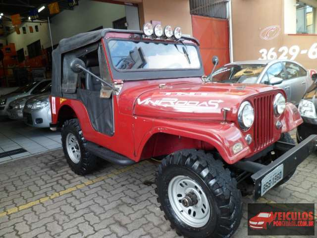 Jeep Willys 4cc Usado Taubaté-SP